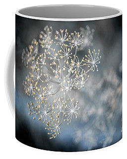 Coffee Mug featuring the photograph Flowering Dill Macro by Elena Elisseeva