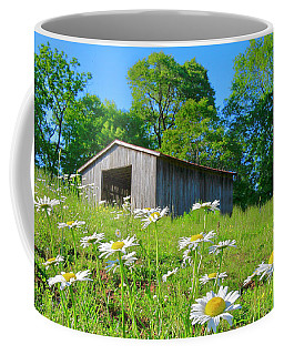 Flowering Hillside Meadow Coffee Mug