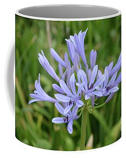 Flowering Light Blue Allium Flowers Coffee Mug by DejaVu Designs