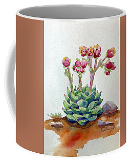 Flowering Succulent Coffee Mug