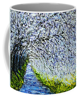 Flowering Tree Lane Coffee Mug