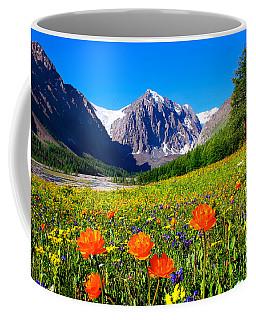 Flowering Valley. Mountain Karatash Coffee Mug
