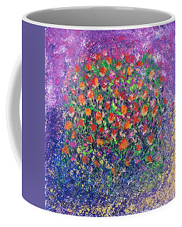 Flowers All Over Coffee Mug