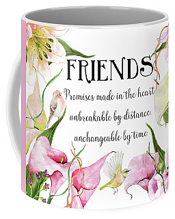 Flowers And Birds Coffee Mug