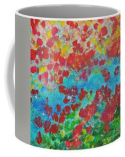 Flowers And Creek Coffee Mug