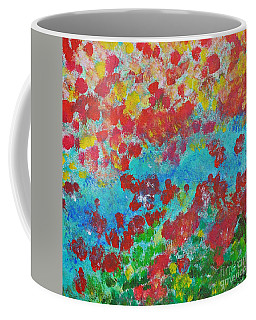 Flowers And Creek Coffee Mug
