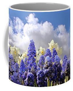 Flowers And Sky Coffee Mug