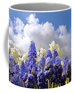 Flowers And Sky Coffee Mug