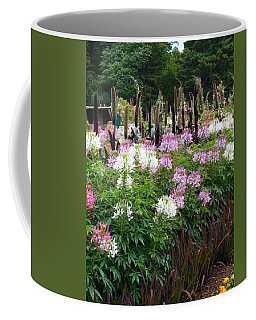 Flowers And Tall Grasses Coffee Mug