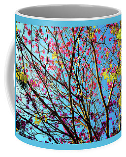 Coffee Mug featuring the photograph Flowers And Trees by D Davila