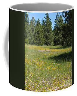 Flowers At Fish Hatchery Coffee Mug