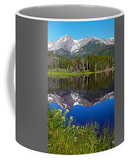 Flowers At Sprague Lake Coffee Mug