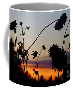 Coffee Mug featuring the photograph Flowers At Sundown by Patricia Strand