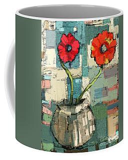 Flowers Coffee Mug by Carrie Joy Byrnes