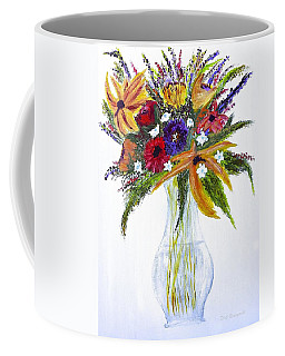 Flowers For An Occasion Coffee Mug by Dick Bourgault