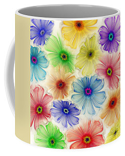 Flowers For Eternity Coffee Mug by Klara Acel