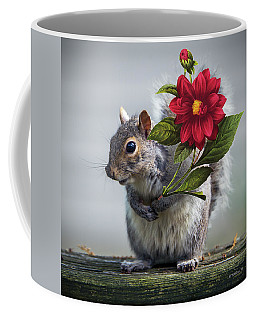 Flowers For You Coffee Mug by Brian Wallace