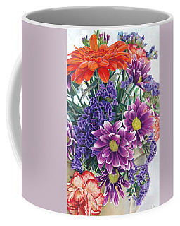 Flowers From Daughter Coffee Mug