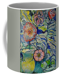Flowers Gone Wild Coffee Mug