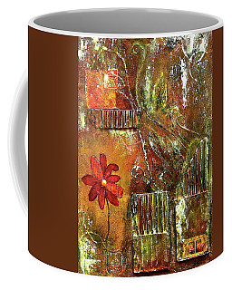 Flowers Grow Anywhere Coffee Mug