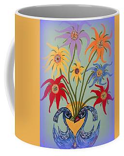 Flowers In A Fancy Vase  Coffee Mug