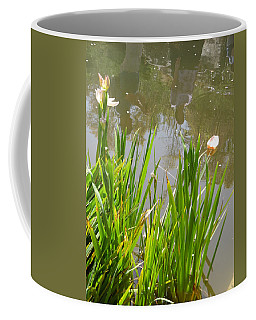 Flowers In The Water Coffee Mug