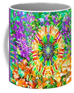 Flowers Mandala Coffee Mug