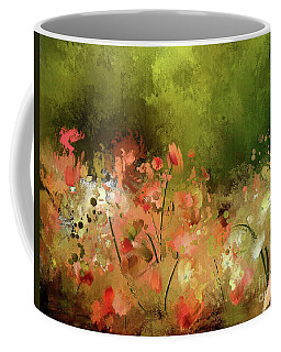 Coffee Mug featuring the digital art Flowers Of Corfu by Lois Bryan