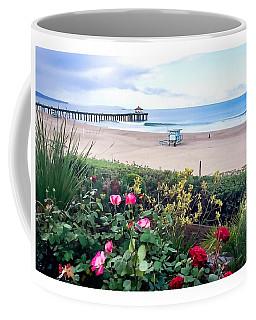 Flowers Of Manhattan Beach Coffee Mug by Art Block Collections