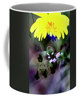 Flowers Of The Dark And Light Coffee Mug by Richard Thomas