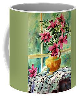 Flowers Shells And Lace Coffee Mug