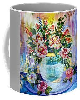 Flowers Still Life  Coffee Mug by Roberto Gagliardi
