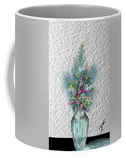 Coffee Mug featuring the digital art Flowers Study Two by Darren Cannell