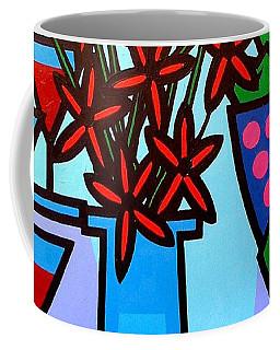Flowers Wine Apples Coffee Mug