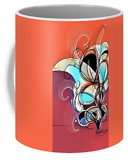 Flowersdigital Abstract Coffee Mug