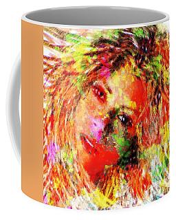 Flowery Shakira Coffee Mug