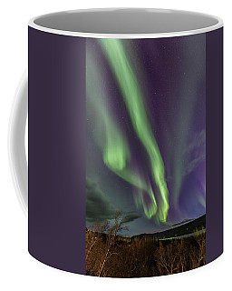 Flowing Aurora Coffee Mug by Hitendra SINKAR
