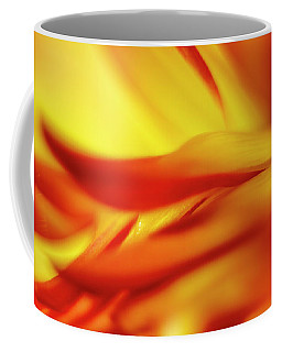Flowing Floral Fire Coffee Mug