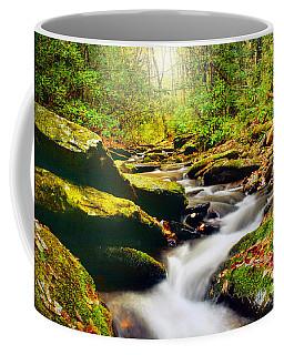Flowing Softly Coffee Mug by Darren Fisher