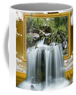 Flowing Waterfall Coffee Mug