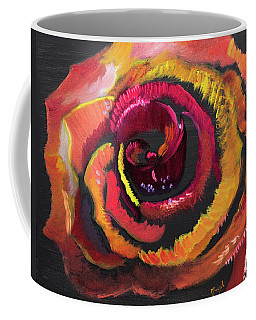 Fluorescent Rose Coffee Mug