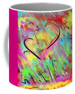 Fluttering Hearts Coffee Mug