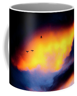 Coffee Mug featuring the photograph Fly Away by Eric Christopher Jackson