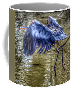 Coffee Mug featuring the photograph Fly Away by Sumoflam Photography