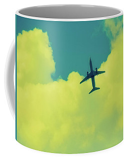 Fly Away  Without Snapshot Border Coffee Mug