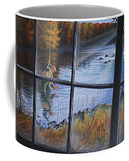 Fly Fisher Coffee Mug