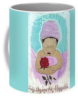 Fly Happy Unique Angel Again Coffee Mug by Talisa Hartley