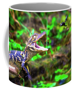 Fly Into My Mouth Please Coffee Mug by Mark Andrew Thomas