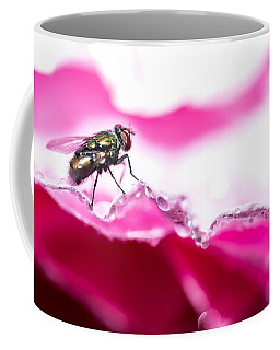 Fly Man's Floral Fantasy Coffee Mug