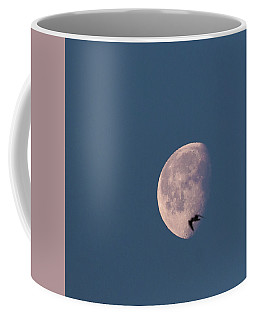 Coffee Mug featuring the photograph Fly Me To The Moon by Alex Lapidus